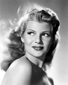 Rita Hayworth (born Margarita Carmen Cansino; October 17, 1918 – May 14, 1987) was an American dancer and film actress who achieved fame during the 1940s as one of the era's top stars.