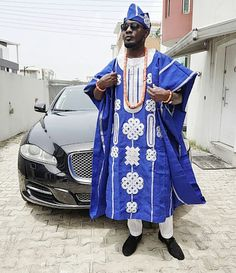 See Comedian AY Gorgeous Outfit To His Brother Yomi Casual Wedding