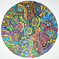 Mandala 2Sept12 by Artwyrd
