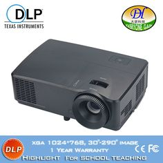 729.00$  Buy here - http://alic5u.worldwells.pw/go.php?t=32635482791 - 2016 DLP Projector for school teaching projector Home theater Proyector led full hd 1080p video projecteur Beamer DH-LS302