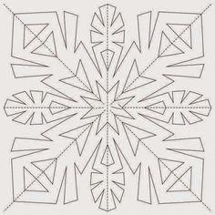 Как создать новогоднюю сказку на окнах: трафареты снежинок и не только - MoyaBerloga