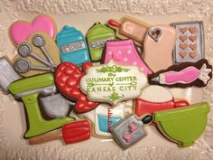 Our culinary instructor Kathryn Harter is an incredible cookie decorator! She has 3 classes on our Summer 2013 Schedule of Classes. Learn her secrets and decorate like a pro! Get details and register at www.kcculinary.com.