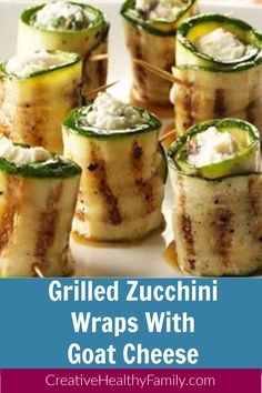 Perfect keto recipe. Great as an appetizer, snack, finger food or even side dish with your favorite kind of meat. A vegetarian idea that is naturally gluten-free, healthy, and good for the entire family to enjoy. #keto #ketorecipe #appetizer #snack #zucchini #vegetarian #easyrecipe #grileld Low Carb Appetizers, Great Appetizers, Easy Appetizer Recipes, Party Appetizers, Easy Healthy Recipes, Lunch Recipes, Paleo Recipes, Whole Food Recipes, Savory Snacks