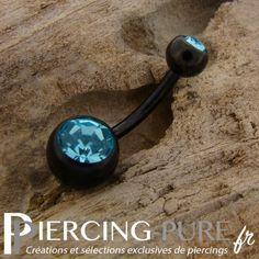 https://piercing-pure.fr/p/250-piercing-nombril-blackline-cristaux-turquoises.html #piercing #piercingnombril #navelpiercing #turquoise #piercingturquoise #piercingnoir