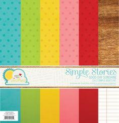 Simple Stories | Good Day Sunshine | 12x12 Simple Basics Kit