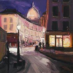 Midnight in Montmarte by Richard Claremont.