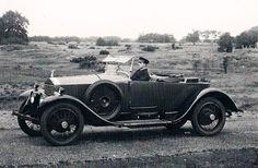 1926 Two-seater with Single Dickey-seat by Hooper (chassis GZK44) for F.G. Newbury
