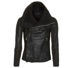 I've been looking at this Rick Owens jacket with envy for two years now.  Ugh.