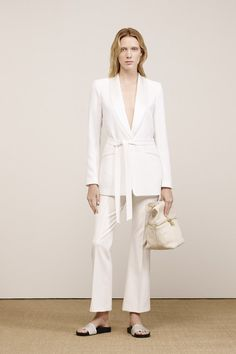 Pin for Later: These Resort 2016 Looks Will Inspire Your Next Outfit Elizabeth and James Resort 2016 Easy suiting deserves equally easy slides — take notes for your Summer work wardrobe.