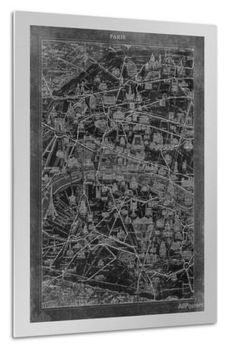 Paris Map Giclee Print by GI ArtLab at AllPosters.com Paris Map, Architectural Prints, Giclee Print, Christmas Ideas, Architecture, Home Decor, Arquitetura, Decoration Home, Room Decor