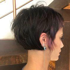Haare kurzhaarfrisuren frauen dunkle Kurze Haare