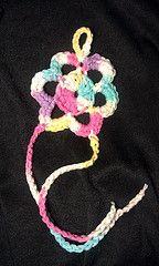 $8 Crochet Baby Barefoot Flower Sandal