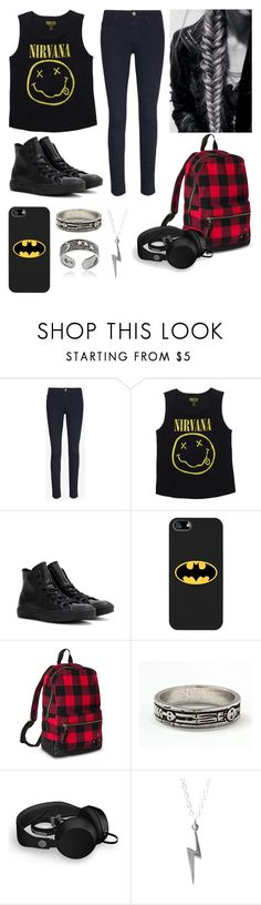 """""""Untitled #407"""" by ashleyxx67 ❤ liked on Polyvore featuring Frame, Converse, Coveroo, Mossimo Supply Co., memento, Urbanears and Tressa"""