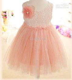 Children Clothing Cute Lace Dresses Fashion Princess Dress Flower Girl Dresses Kids Summer Dress