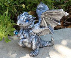 Silver dragon hatchling