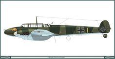Messerschmitt Bf 110C, 15/LG 1, 1940