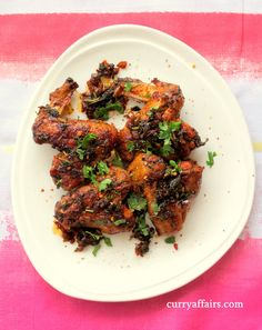 Sticky Chicken Wings with an Indian twist - CurryAffairs.com