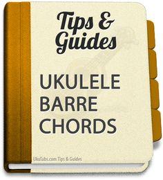 barre ukulele chords