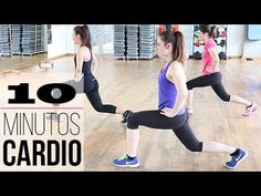 Cardio 10 minutos ideal para principiantes - YouTube