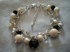 Vaga Pearl Necklace, Charmed, Pearls, Bracelets, Jewelry, Bangle Bracelets, Jewellery Making, String Of Pearls