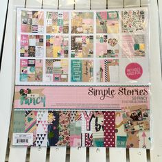 Simple Stories So Fancy Collection Kit for Scrapbooking, Cardmaking, Art Journaling, or Mixed Media, pocket pages, pocket letters by chrystalspace4scrapp on Etsy