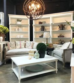 White on White  How pretty is this French Provincial x Hamptons lounge room vignette in our Alexandria showroom? Timeless white pieces.  Featured are our Grange 2 and 4 Door Wall Units our Arya Sofa  and Armchair and our Hamptons Rattan Coffee Table.  All items IN STOCK NOW!  Visit our showroom or website for more info  OPEN 7 DAYS | 38 Burrows Rd Alexandria  www.canalside.com.au  #furniture #canalsideint #canalsideinteriors #Sydney #Alexandria @canalsideint
