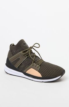 da939616fc21 B.O.G. Limitless Hi evoKNIT Olive Shoes Men S Shoes