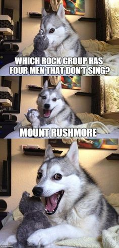 WHich #RockGroup has 4 #men that don't #sing ? #MountRushmore #LetsGetWordy