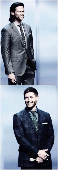 Jared Padalecki and Jensen Ackles #CWUpfronts14