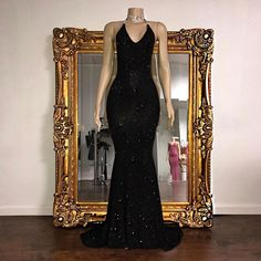 Black Sequin Prom Dress 2019 Mermaid Sleeveless Long Evening Gown · MychicDress · Online Store Powered by Storenvy Unique dress - Fashion Dress 2020 - Casual Dress Black Sequin Prom Dress, Sequin Evening Dresses, Long Evening Gowns, Black Prom, Pink Sequin, Black Sequins, Prom Girl Dresses, Prom Outfits, Mermaid Prom Dresses