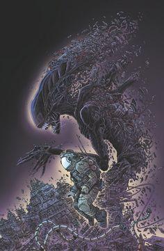 Alien: Dead Orbit Cover by James Stokoe