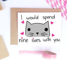 Funny Valentine Card Boyfriend Gift Card for by LailaMeDesigns