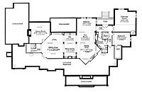 1000 images about house plans on pinterest floor plans for Half basement house plans