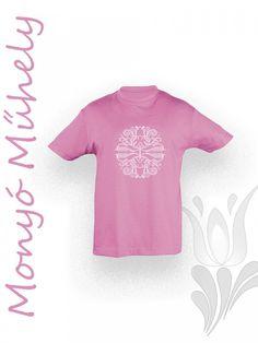Mezőcsáti gyerek póló - Rózsaszín