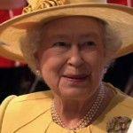 Queen Elizabeth at Prince William's wedding