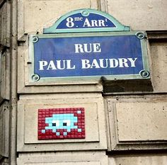 La rue Paul-Baudry  (Paris 8ème)