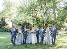 jesslancephoto,C+R | WEBB BARN, Dusty Blue Bridesmaid Dresses, Barn, Wedding Dresses, Country, Fashion, Bride Dresses, Moda, Converted Barn, Bridal Gowns