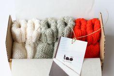 Le trio de chaussons Tao by Granny