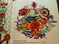 escape to shakespeare's world a colouring book adventure - polychromos
