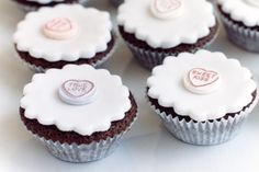 If ever there was a day for these cupcakes, today is it! Happy Valentine's Day!