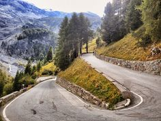 Stelvio Pass, #Italy (there is a cyclist in the picture!) http://en.wikipedia.org/wiki/Stelvio_Pass