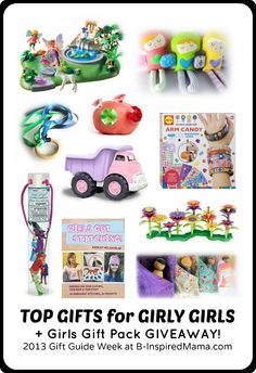 2013 Gift Guide Week Top Picks for Girly Girls + a #Giveaway for a Girls Gift Pack! #sponsored #gifts #giftguide #kids #kbn