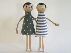 Design Inspirations - Clothes Pin Dolls