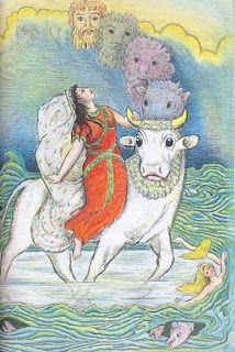 D'Aulaires Book of Greek Myths - favorite book as a child