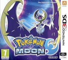 POKÉMON MOON!!!!!!!! I HAVE IT!!!! ALMOST PLAYING THE WHOLE DAY XD!!!!