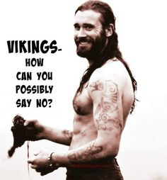 Wake up, time to Rollo! Vikings #CliveStanden