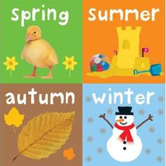 My Little Chunky (Set of 4 Books) - Seasons — Board book pack for babies and toddlers all about the four seasons. Home Learning, Early Learning, Toddler Books, Childrens Books, Activity Games, Activities, Preschool Weather, All Schools, Fun At Work