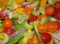 Beautiful Salad, nothing special just colorful and pretty!