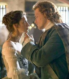The wedding of Jamie and Claire - Outlander