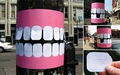 Dental clinic:) Clever advertising